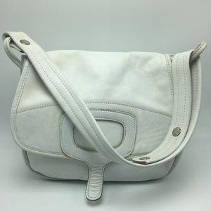 Vintage JOSEPH MAGNIN White Leather Purse